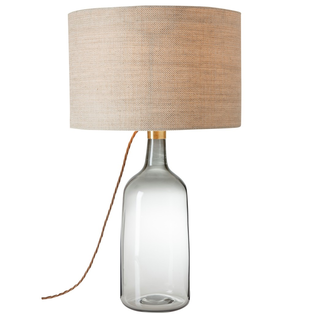 Heany lamp & shade by Fermoie